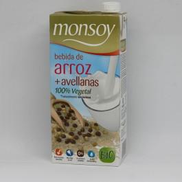 beguda arròs avellana monsoy